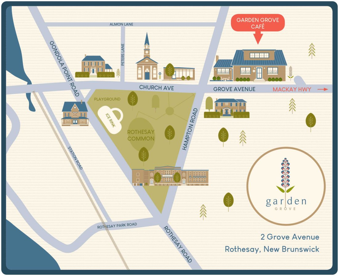 Garden Grove Map